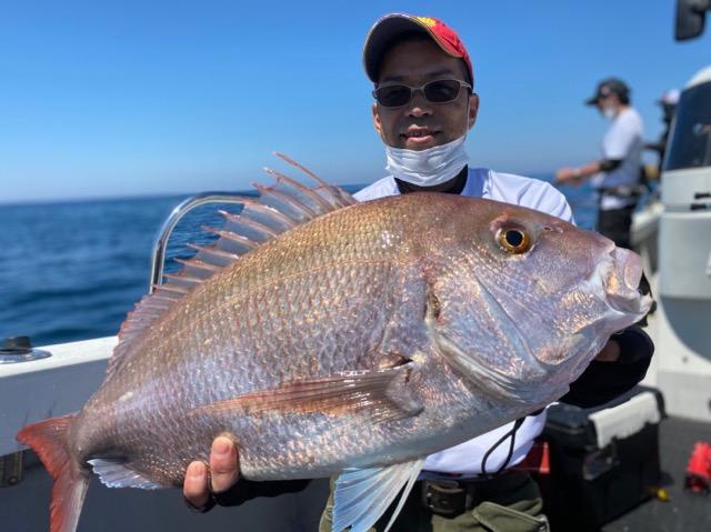 竹野鯛ラバ60cm